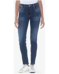 Le Temps Des Cerises Jeans Jeans pulp slim sha taille haute bleu
