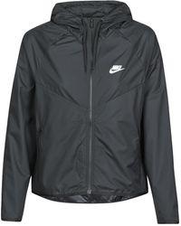 Nike Cortaviento W NSW WR JKT - Negro
