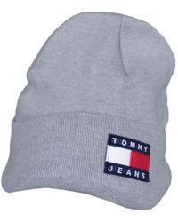 Tommy Hilfiger Bonnet Bonnet Gris pour homme