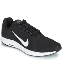 Nike - Downshifter 8 Men s Running Trainers In Black - Lyst c1c7c0bd9
