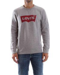 Levi's 17895 GRAPHIC CREW B - Grigio