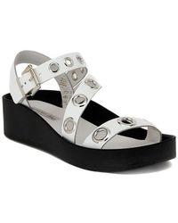 Tosca Blu | Saffiano Borchie Women's Sandals In Multicolour | Lyst