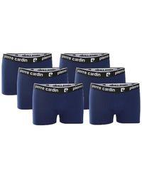 Pierre Cardin 6-pack Boxers Boxer Shorts - Blue