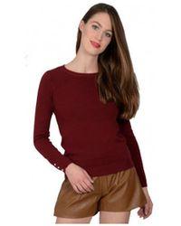 Molly Bracken - Pull Femme Bordeaux Pull - Lyst