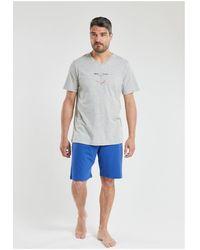 Armor Lux Pyjamas / Chemises de nuit - Gris