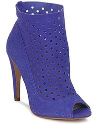 BOURNE Ankle Boots RITA - Blau