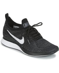 75c62221c10a Nike - Air Zoom Mariah Flyknit Racer W Women s Shoes (trainers) In Black -