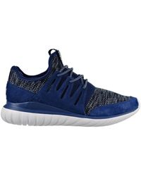 adidas Tubular Radial hommes Chaussures en multicolor - Bleu