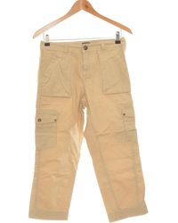 La Redoute Pantacourt Femme 36 - T1 - S Pantalon - Vert