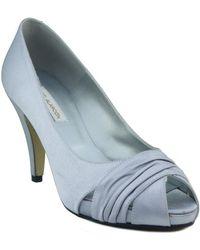 Ángel Alarcón Shoe Party Women's Court Shoes In Silver - Metallic