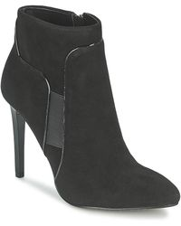 French Connection - Moriss Women's Low Ankle Boots In Black - Lyst