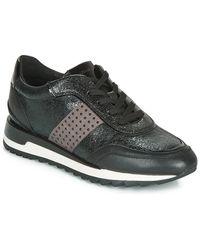 Geox Lage Sneakers D Tabelya - Zwart