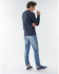 Teddy Smith Sweat-shirt S-GORDON RC - Bleu