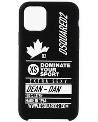 DSquared² Dominate D2 Housse portable - Noir