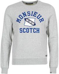 Scotch & Soda - Jarisco Men's Sweatshirt In Grey - Lyst