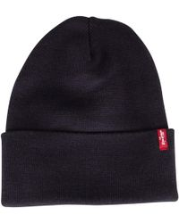 Levi s - Levis Men s Slouchy Red Tab Beanie 6a576987d865