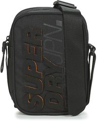 Superdry Montauk Side Bag Pouch - Black