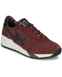 Allrounder By Mephisto Lage Sneakers Vitesse - Rood