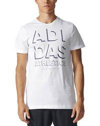 adidas ATHLETICS BIANCA - Bianco