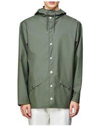 Rains Chaqueta 1201-GREEN - Verde