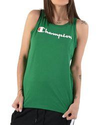 Champion CANOTTA VERDE femmes Debardeur en vert
