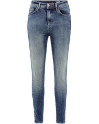 Salsa - Jean Slim Elegant Reductor Capri Jeans - Lyst