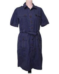 Gerard Darel Robe - Taille 40 Robe - Bleu
