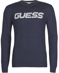 Guess - LOGO SWEATER - Lyst