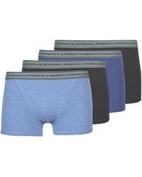 Athena Boxers Basic Coton - Blauw