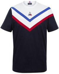 Le Coq Sportif T-shirt Tricolore T-shirt - Bleu