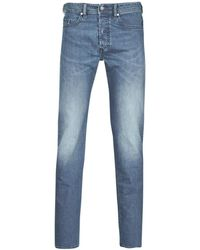 DIESEL Straight Jeans Buster - Blauw