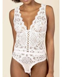 Valege Body Romance Bodys - Blanc