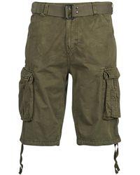 Schott Nyc TR RANGER uomini's Pantaloni corti - Verde