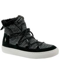 Skechers Side Street 73578-BLK femmes Chaussures en multicolor - Noir