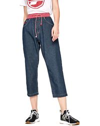 Pepe Jeans PL203397R Jeans 3/4 & 7/8 - Bleu