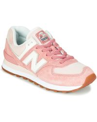 New Balance Lage Sneakers 574 - Roze
