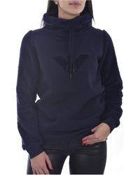 Armani Jersey chalecos 164373 0A256 - Mujer - Azul