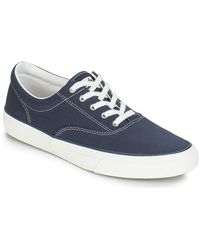 Keds Lage Sneakers Anchor Canvas - Blauw