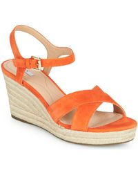 Geox Sandalias D SOLEIL - Naranja