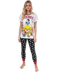Disney Pyjama Snow White Pyjamas / Chemises de nuit - Blanc