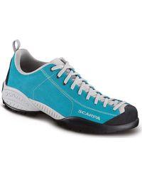 SCARPA Mojito Women's Shoes (trainers) In Multicolour - Blue
