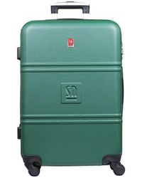 Słoń Torbalski 040401o07 Hard Suitcase - Green