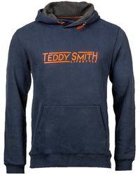 Teddy Smith Sweat Sweat-shirt - Bleu