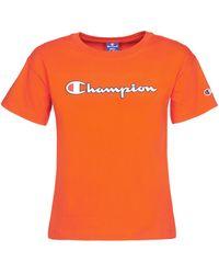 Champion - T-shirt Korte Mouw Koolate - Lyst