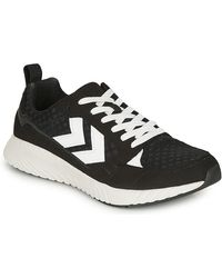 Hummel Lage Sneakers Competition - Zwart