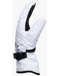 Roxy GANTS DE SKI / SNOWBOARD FEMME Jetty ERJHN03165 Gants - Blanc