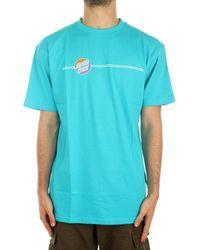 Santa Cruz SCA-TEE-6433 T-shirt - Bleu