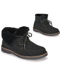 Birkenstock Laarzen Bakki - Zwart