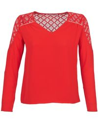 Betty London Dhope Blouse - Red