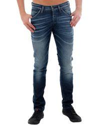 Jack & Jones 12159182 JJGLENN JJFOX BL 881 NOOS BLUE DENIM Jeans - Bleu